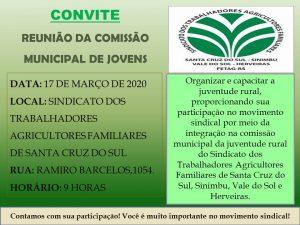 REUNIÃO DA COMISSÃO DA JUVENTUDE