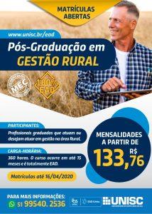 CURSO DE GESTÃO RURAL